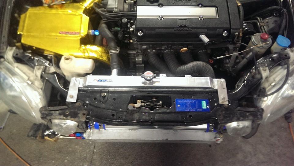Honda Del Sol B16 Turbo Daily Driver CWR